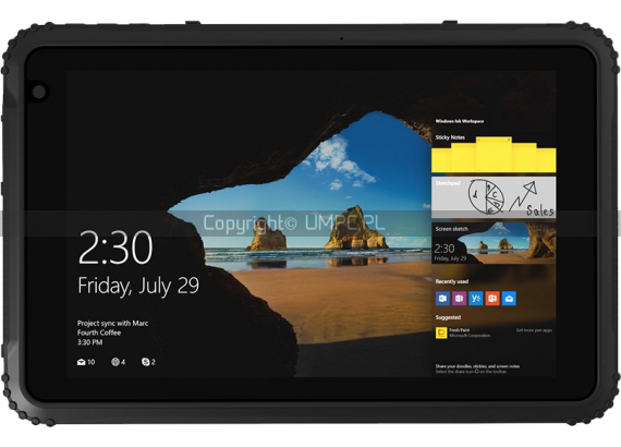 Tablet odporny Windows 10 - Emdoor EM-I88H