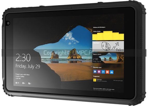 Wytrzymały tablet Windows 10 / Android 5.1 - Emdoor EM-I18H
