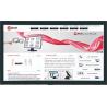 Dotykowy monitor 4K przemysłowy 84 displayport - Faytech FT84TMBCAP