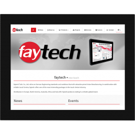 Monitor dotykowy open frame 15 - Faytech FT15HDKTMHBCAPOB