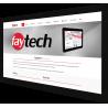 Wyświetlacz dotykowy pojemnościowy - Faytech FT43HDKTMCAPHBOB