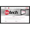Dotykowy wyświetlacz 86 cali 4K HDMI DisplayPort VGA HDMI - Faytech FT86TMCAPHBOB