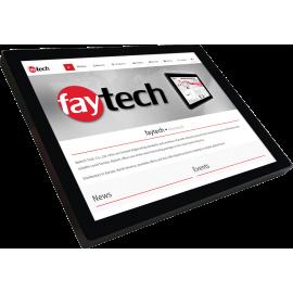 Jasny monitor dotykowy odporny na wodę - Faytech FT15TMIP65CAPHBOB