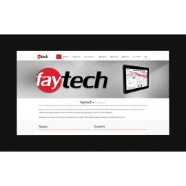 Monitor zewnętrzny PCAP Open Frame jasny ekran IP65 11.6 - Faytech FT116HDKTMBHBCAPOB