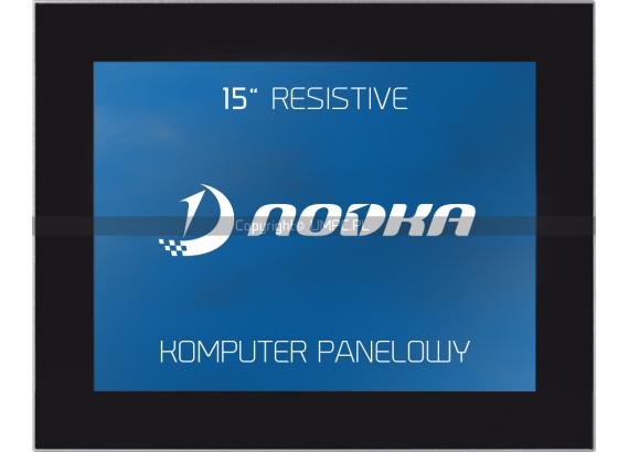 Panel PC rezystancyjny z pasywnymi procesorami intel core - NODKA TPC6000-D153