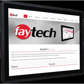 Panel PC rezystancyjny 15 cali - Faytech FT15JFLAT