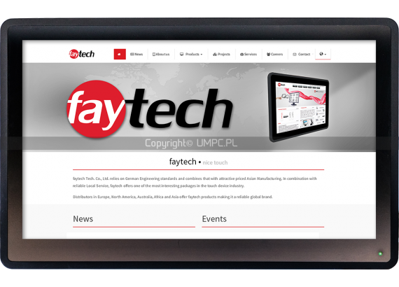 """Panel PC FULL HD Android 15.6"""" - Faytech FT156V40"""