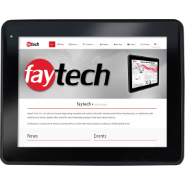 Panel PC 10 cali do przemysłu z Androidem - Faytech FT10V40