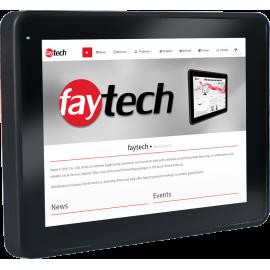 Komputer panelowy do pracy w pyle i produkcji 10 cali - Faytech FT10N4200CAPOB-V2