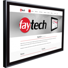 Duży komputer panelowy 32 cale cali z dotykiem PCAP - Faytech FT32N4200CAPOB