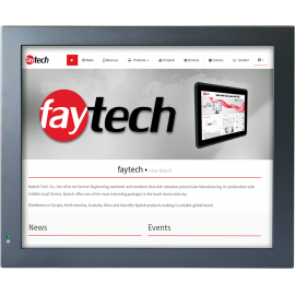 Przemysłowy komputer panelowy 17 cali - Faytech FT17N3350RES