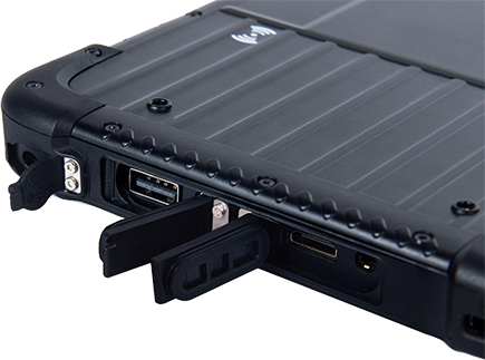 Tablet przemysłowy EM-I86 ze stacją dokującą
