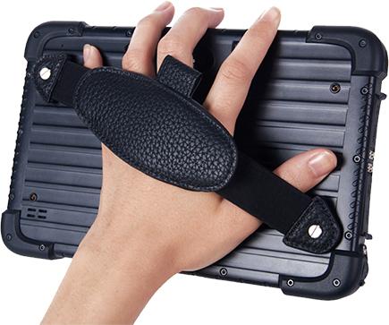 Wodoszczelny tablet z uchwytem na rękę i NFC - Emdoor EM-T86