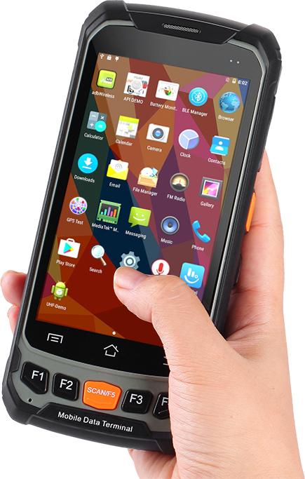 Odporny terminal mobilny android - HANDHELD COZY