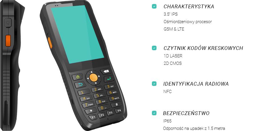 Jepower HT380K - kolektor z czytnikiem RFID HF NFC