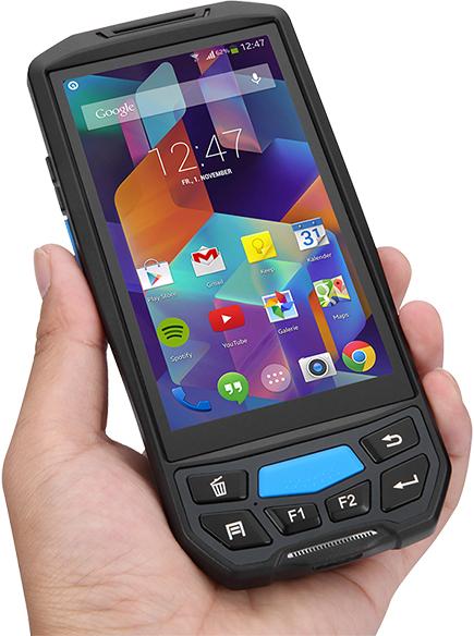 Czytnik kodów kreskowych Android NFC RFID LF - Lecom U9000