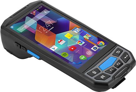 kolektor danych z wbudowaną drukarką i RFID LF NFC - Lecom U9300