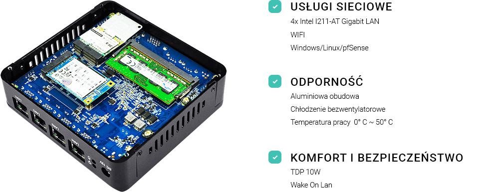 mini komputer serwer fanless ssd spectre ql30