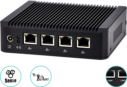 mini pc bezwentylatorowe 4xlan gigabit server spectre ql30