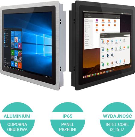 Przemysłowy komputer przemysłowy 12 cali windows linux - Panliety ALU-P12