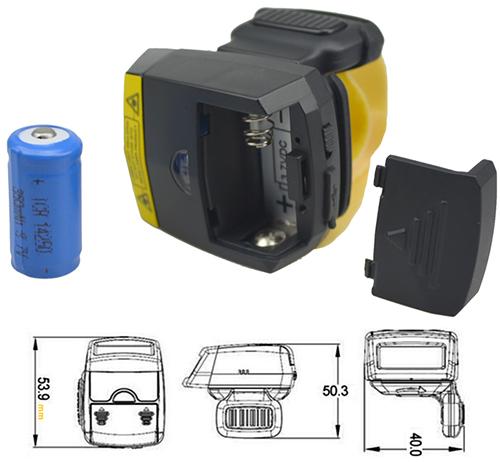 Postech UL-FS03 - miniaturowy czytnik kodów kreskowych