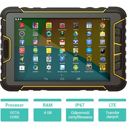 Tablet przemysłowy Android Senter ST907 - 2GB RAM