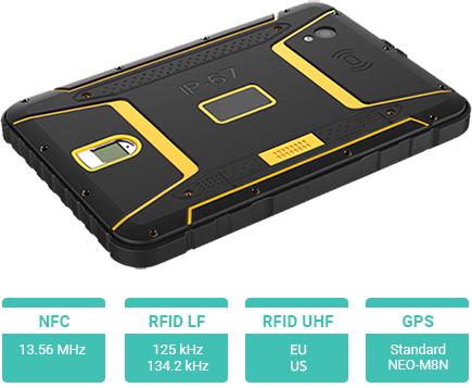 Tablet przemysłowy Senter ST907 z czytnikami RFID UHF, LF, HF