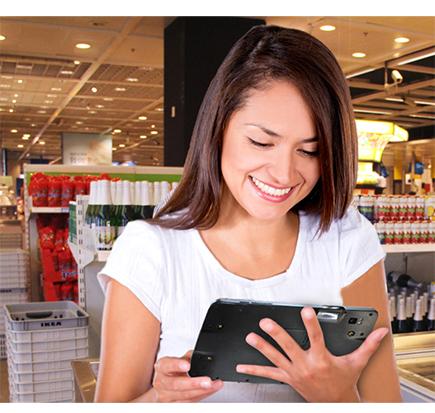 Tablet wzmocniony IP65 przemysłowy - Seuic AUTOID PAD