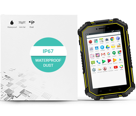 Wzmocniony tablet przemysłowy odporny LTE DUALSIM 3G UNIWA HV2