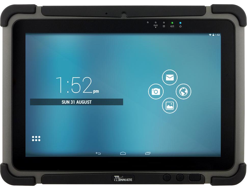 Wzmocniony tablet przemysłowy android IP65 - Winmate M101M8